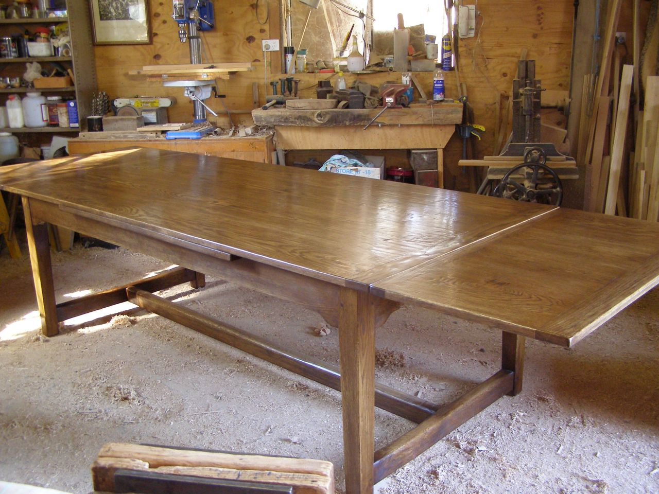 Extension Table In Oak Greg Stirling Furniture