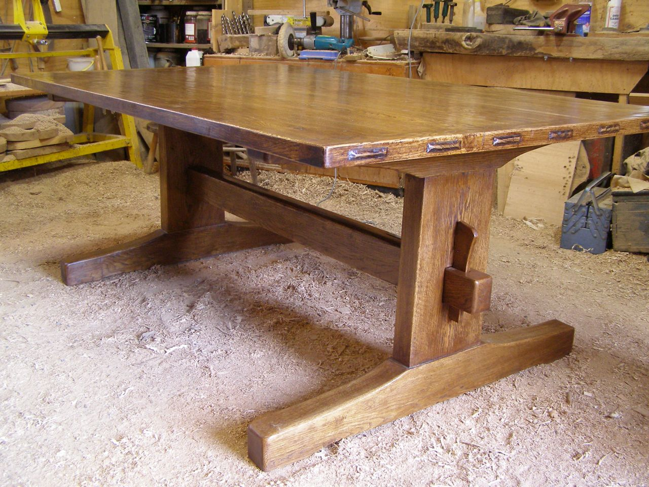 Refectory Table In Oak Greg Stirling Furniture