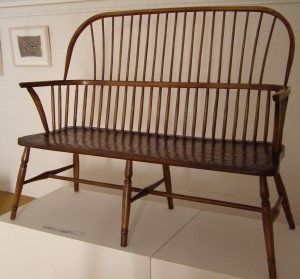 Settee - traditional all timber hand crafted by Greg Stirling